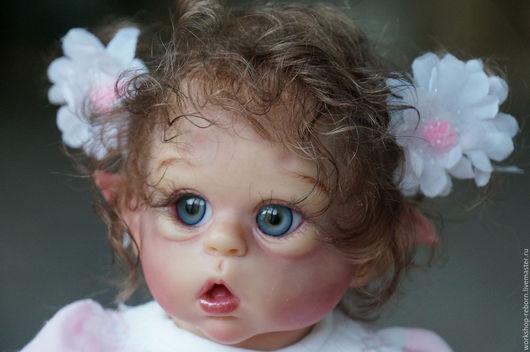 Куклы-младенцы и reborn ручной работы. Ярмарка Мастеров - ручная работа. Купить Офелия, кукла, реборн, мини реборн.. Handmade.