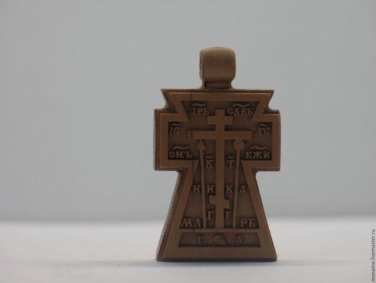 Кулоны, подвески ручной работы. Ярмарка Мастеров - ручная работа. Купить Резной нательный крестик. Handmade. Крест, резной крест