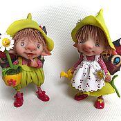 Куклы и игрушки ручной работы. Ярмарка Мастеров - ручная работа Маленькие садовники. Handmade.