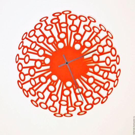 """Часы для дома ручной работы. Ярмарка Мастеров - ручная работа. Купить Часы настенные """"Салют"""" / размер 48,5см. Handmade."""