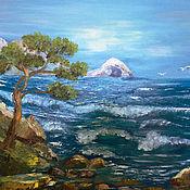 Картины и панно handmade. Livemaster - original item Picture Sea sea element wave blue sea:. Handmade.