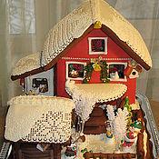 Сувениры и подарки ручной работы. Ярмарка Мастеров - ручная работа Новогодний пряничный дом. Handmade.