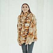 handmade. Livemaster - original item Fox fur jacket. Handmade.