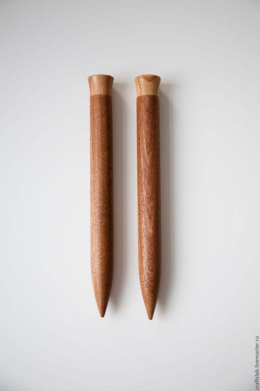 Спицы для вязания  и крючки ручной работы оригинальный подарок для рукодельницы!