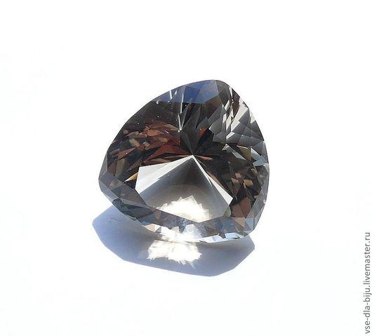 Кварц Дымчатый Раухтопаз Натуральный Природный Камень Огранка Ювелирная Купить