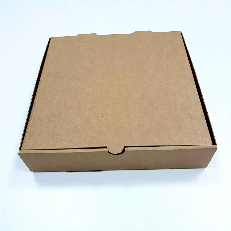 Коробка 23х23х5 см микрогофрокартон, крафт, Коробки, Ставрополь,  Фото №1