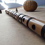 Музыкальные инструменты ручной работы. Ярмарка Мастеров - ручная работа Бансури Ре №574. Handmade.