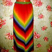 """Одежда ручной работы. Ярмарка Мастеров - ручная работа юбка """"Радуга"""". Handmade."""
