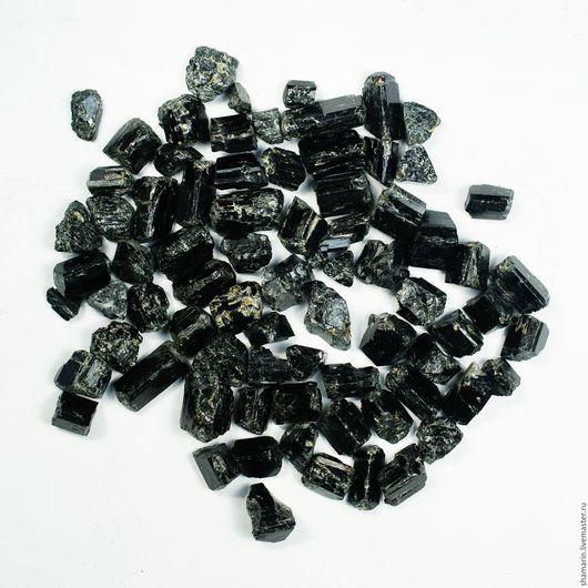 Натуральный черный турмалин