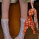 Куклы тыквоголовки ручной работы. Заказать Кукла,,Мятка,,. Елена (elenadollworld). Ярмарка Мастеров. Тыквоголовка, юбочка, холлофайбер