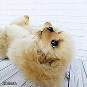 Куклы и игрушки ручной работы. Ярмарка Мастеров - ручная работа Спаниель Карамелька, щенок тедди, собака тедди. Handmade.
