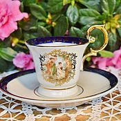 Винтаж handmade. Livemaster - original item Vintage collectible Cup. Martinroda Friedrich Eger & Co. Handmade.