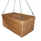 Для дома и интерьера handmade. Livemaster - original item Cradle cot for children, woven from natural, woody vines. Handmade.