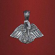 """Украшения ручной работы. Ярмарка Мастеров - ручная работа Медальон """"От сердца к сердцу"""". Handmade."""