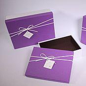 Подарки к праздникам ручной работы. Ярмарка Мастеров - ручная работа Подарочная коробка/упаковка. Handmade.