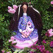 Куклы и игрушки ручной работы. Ярмарка Мастеров - ручная работа Кукла тильда Катюша фея ангел. Handmade.