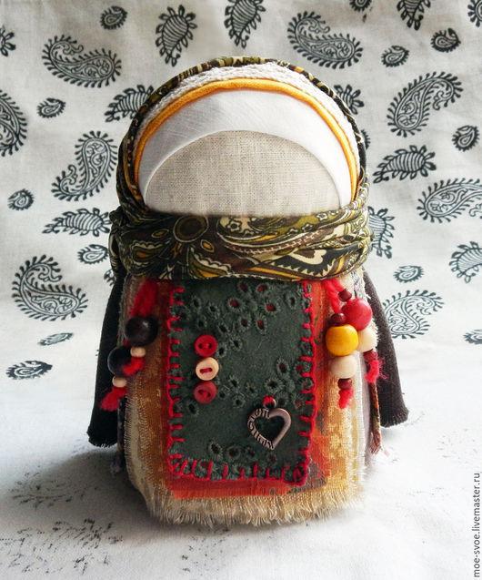Народные куклы ручной работы. Ярмарка Мастеров - ручная работа. Купить Крупеничка. Handmade. Хаки, народная кукла, славянский оберег