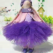 Куклы и игрушки ручной работы. Ярмарка Мастеров - ручная работа Тильда заяц в фатиновой юбочке. Handmade.