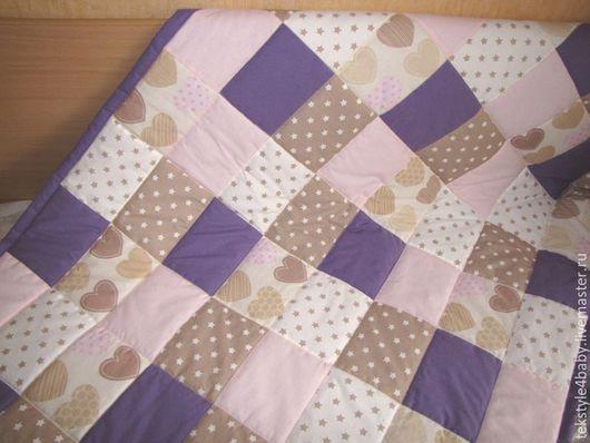 """Текстиль, ковры ручной работы. Ярмарка Мастеров - ручная работа. Купить Покрывало """"Звездная пудра"""". Handmade. Покрывало на кровать, синтепон"""