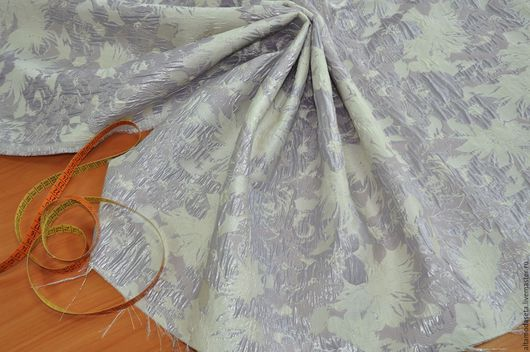 """Шитье ручной работы. Ярмарка Мастеров - ручная работа. Купить СКИДКА-20% Жаккард  """"Blumarine"""". Италия 2680 руб. за 1 м. Handmade."""