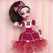 Куклы и игрушки ручной работы. Ярмарка Мастеров - ручная работа Платье для МХ. Handmade.