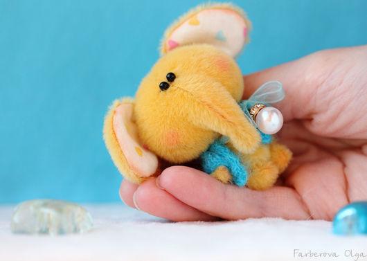 Мишки Тедди ручной работы. Ярмарка Мастеров - ручная работа. Купить Миниатюрный слоник  - подарок!. Handmade. Комбинированный, игрушка, блайз