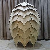 Для дома и интерьера handmade. Livemaster - original item Pendant wooden lamp CONE. Handmade.