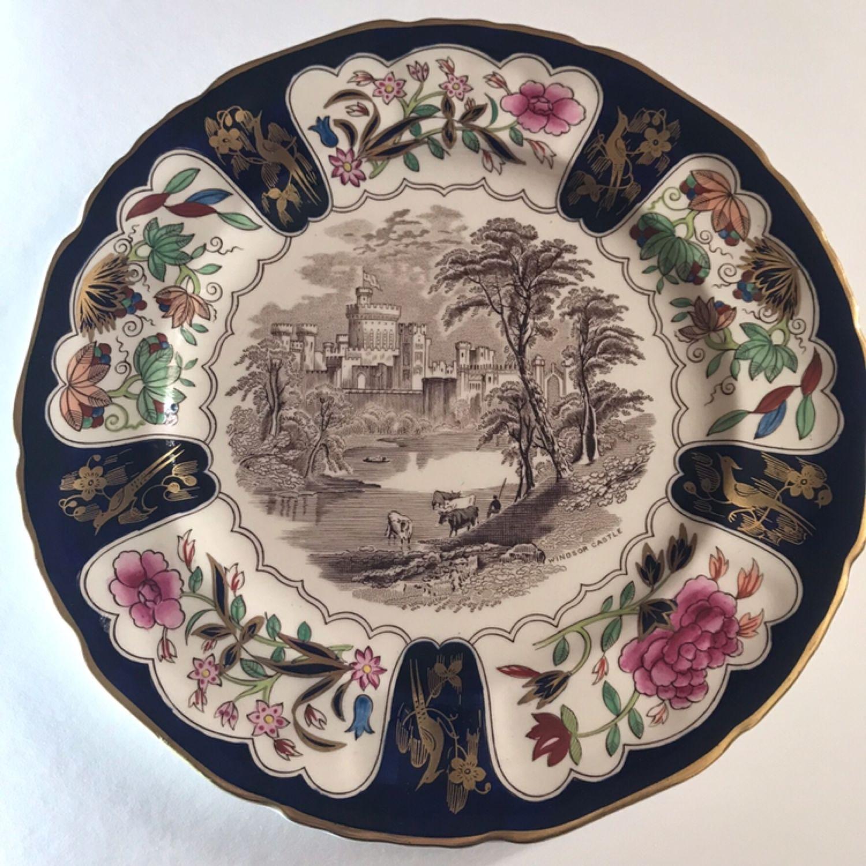 Винтаж: Тарелка Панно Виндзорский Замок Mason's Англия, Сувениры винтажные, Лондон,  Фото №1