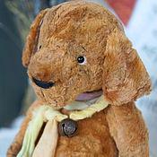 Куклы и игрушки ручной работы. Ярмарка Мастеров - ручная работа Собака тедди Бублик. Handmade.