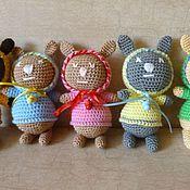 Куклы и игрушки ручной работы. Ярмарка Мастеров - ручная работа Зайки малыши. Handmade.