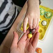 Кукольная еда ручной работы. Ярмарка Мастеров - ручная работа Кукольная еда. Еда для кукол. Овощи и фрукты из полимерной глины.. Handmade.