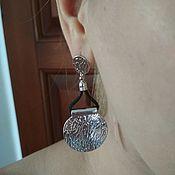 Винтаж handmade. Livemaster - original item Vintage earrings