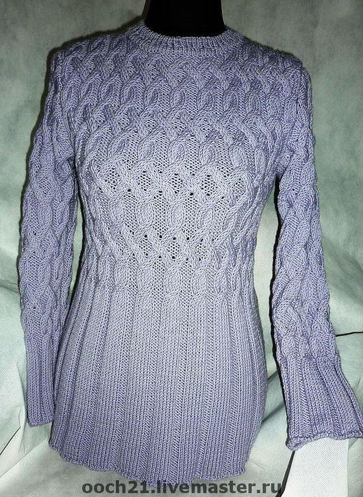 Кофты и свитера ручной работы. Ярмарка Мастеров - ручная работа. Купить пуловер АЛИНА. Handmade. Свитер, серый цвет
