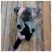 Куклы и игрушки ручной работы. Ярмарка Мастеров - ручная работа Мой ласковый и нежный кот. Handmade.