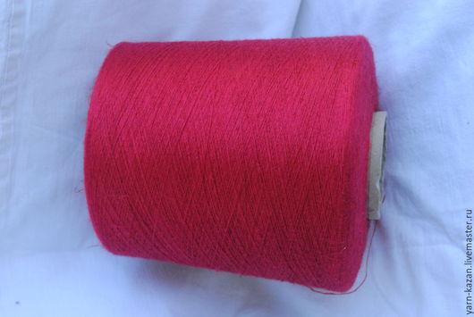 Пряжа шелк 65% + лен 35% Prisma ricerche, Италия, цвет: густой красный