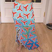 Одежда ручной работы. Ярмарка Мастеров - ручная работа юбка красное море. Handmade.