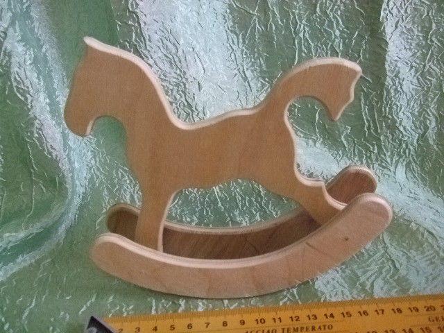 Лошадка-качалка – заказать на Ярмарке Мастеров – CP5HRU | Заготовки для декупажа и росписи, Челябинск
