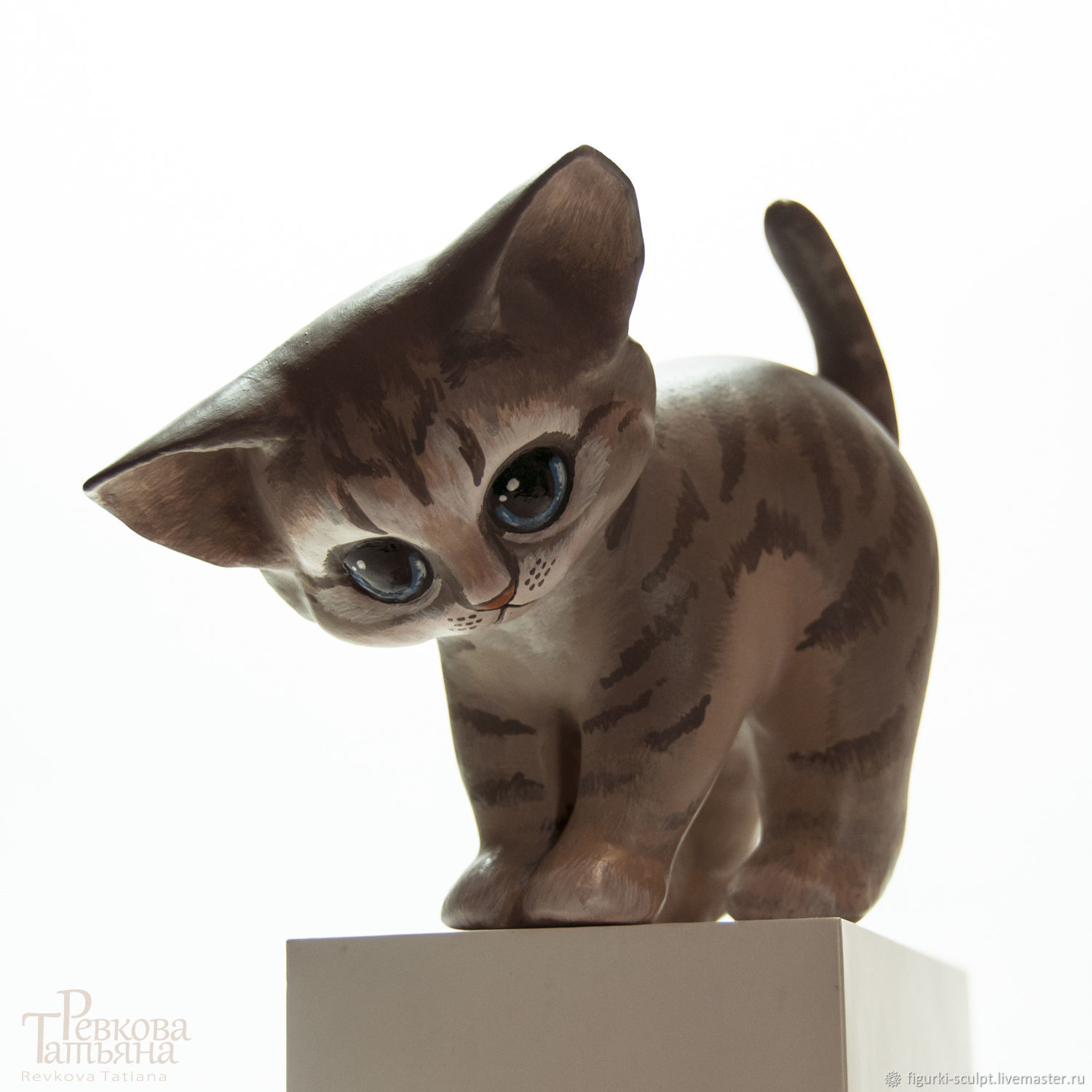 Figurine KITTEN, Figurines, Moscow,  Фото №1