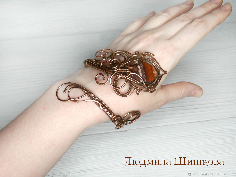 bracelet with Jasper 2, Bead bracelet, Mezhdurechensk,  Фото №1