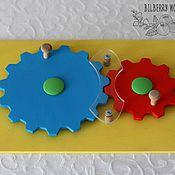 """Куклы и игрушки ручной работы. Ярмарка Мастеров - ручная работа Деревянная игрушка """"Зубчатая передача"""". Handmade."""