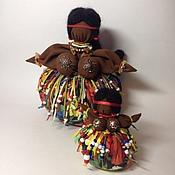 """Куклы и игрушки ручной работы. Ярмарка Мастеров - ручная работа Травница """"Шоколадка"""". Handmade."""