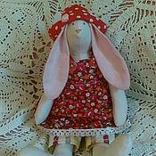 Куклы и игрушки ручной работы. Ярмарка Мастеров - ручная работа Тильда заяц Клубничка. Handmade.