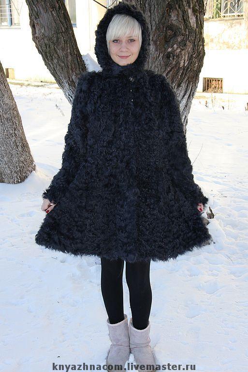 Верхняя одежда ручной работы. Ярмарка Мастеров - ручная работа. Купить Пальто меховое для девушки. Handmade. Натуральный мех
