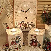 Для дома и интерьера ручной работы. Ярмарка Мастеров - ручная работа Новогоднее кантри. Handmade.