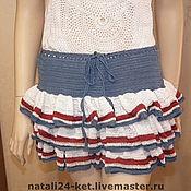 Одежда ручной работы. Ярмарка Мастеров - ручная работа юбка Кокетка. Handmade.