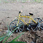 Украшения ручной работы. Ярмарка Мастеров - ручная работа Новогодняя игрушка Велосипед. Handmade.