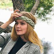 Аксессуары handmade. Livemaster - original item Headband GREEN TEA. Handmade.