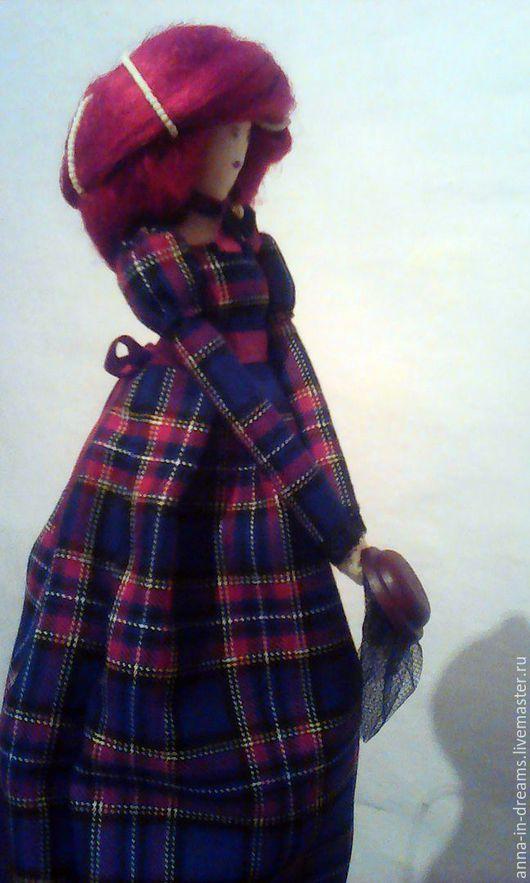 """Куклы Тильды ручной работы. Ярмарка Мастеров - ручная работа. Купить Кукла тряпичная """"Юная Роза"""". Handmade. Тёмно-синий"""