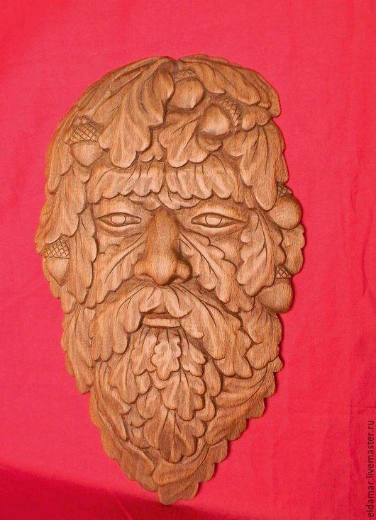 """Интерьерные  маски ручной работы. Ярмарка Мастеров - ручная работа. Купить Маска-лик """"Живой дух леса - Мудрый"""". Handmade."""