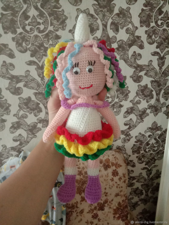 Кукла единорожка, Куклы и пупсы, Москва,  Фото №1